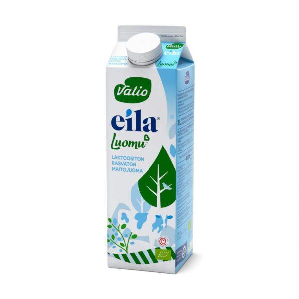 Eila Luomu™ rasvaton maitojuoma laktoositon