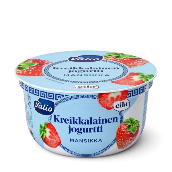 Kreikkalainen jogurtti mansikka laktoositon