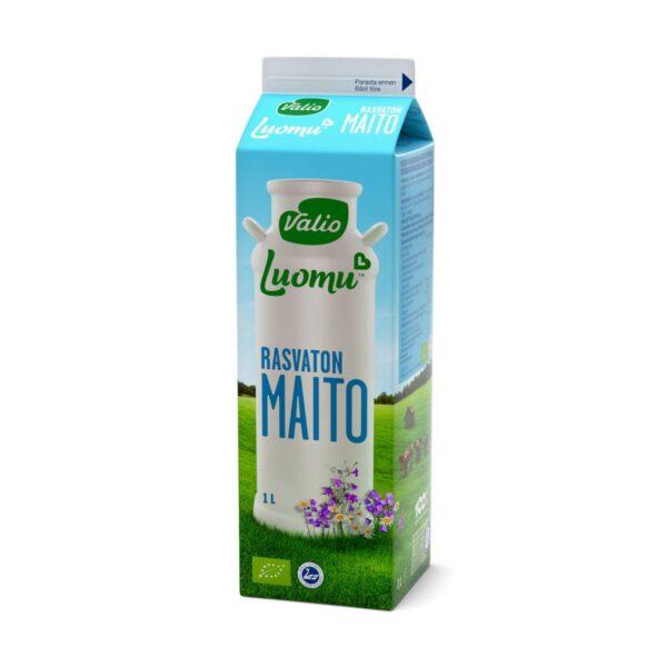 Luomu rasvaton maito