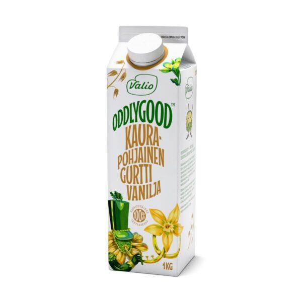 Oddlygood® kaurapohjainen gurtti vanilja