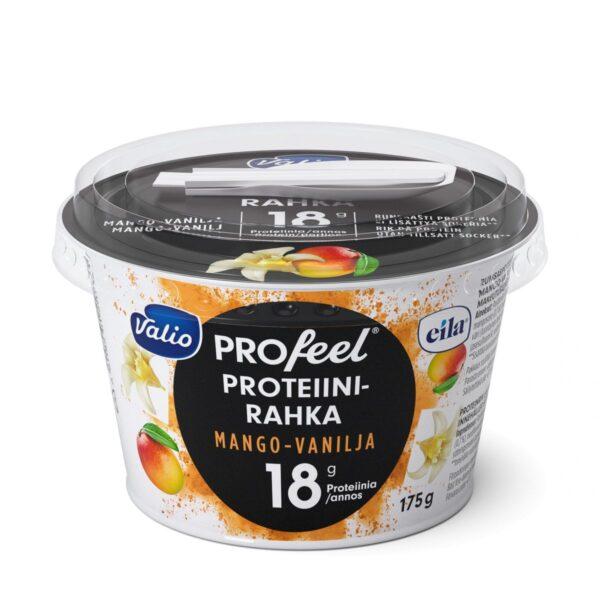 PROfeel proteiinirahka sokeroimaton mango-vanilja laktoositon