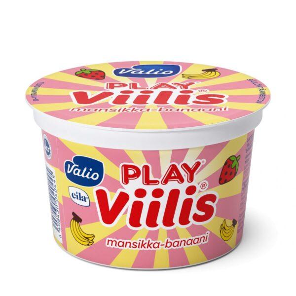 Play viilis mansikka - banaani laktoositon