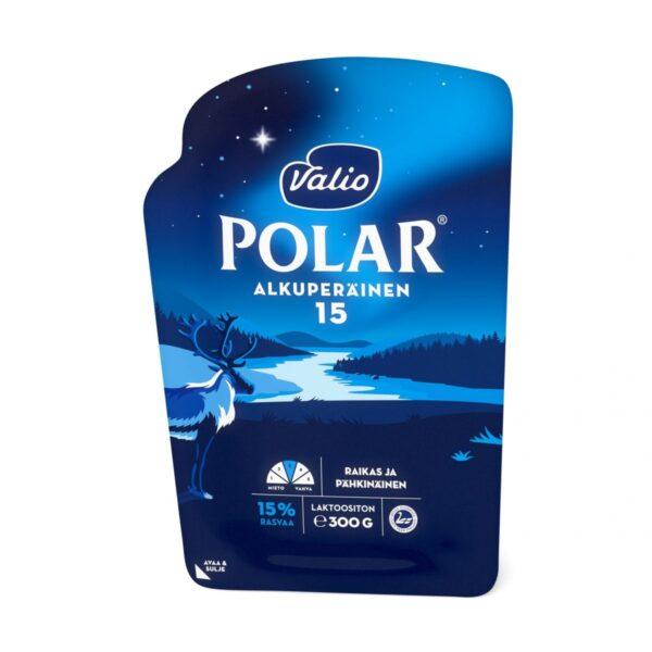 Polar Alkuperäinen 15% juustoviipale Ohuen Ohut