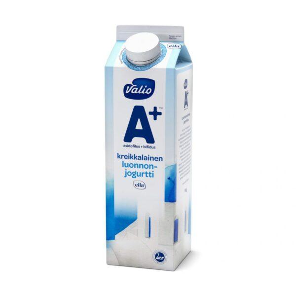 Valio A+ kreikkalainen luonnonjogurtti laktoositon