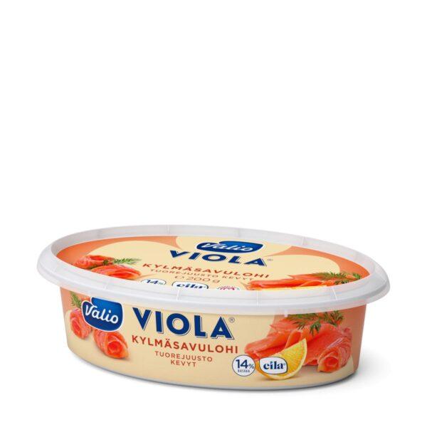 Viola kevyt kylmäsavulohi tuorejuusto laktoositon