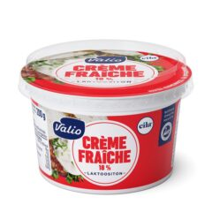 kevyt crème fraîche 18 % laktoositon