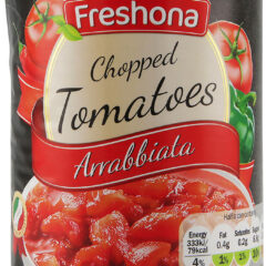 Bio Organic Chopped Tomatoes Arrabbiata