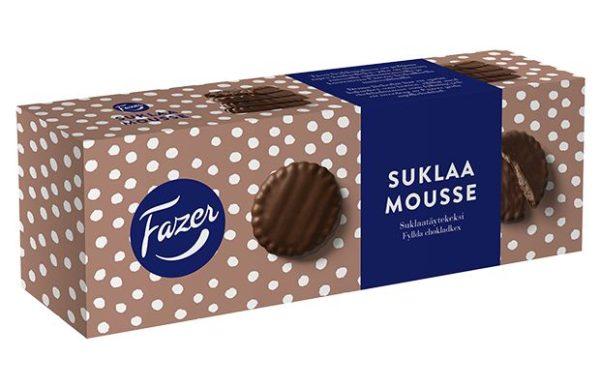 Fazer Suklaamousse 142 g suklaakeksi