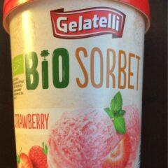 Gelatelli Bio Organic Sorbet Strawbery
