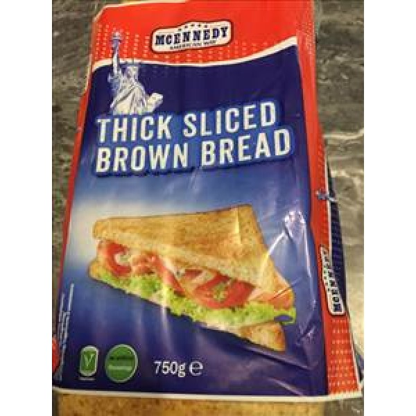 Thick Sliced Brown Bread